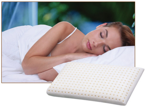 Thomasville Natural Flex Latex Pillow 1 Pack|boyd specialty sleep pillows, thomasville, soothe, natural flex, latex pillows, pillows, talalay