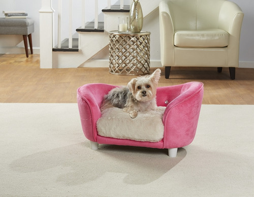 Enchanted Home Pet Ultra Plush Snuggle Pet Sofa|enchanted home pet beds, pet beds, snuggle pet sofa, snuggle beds, pet sofa, ultra plush