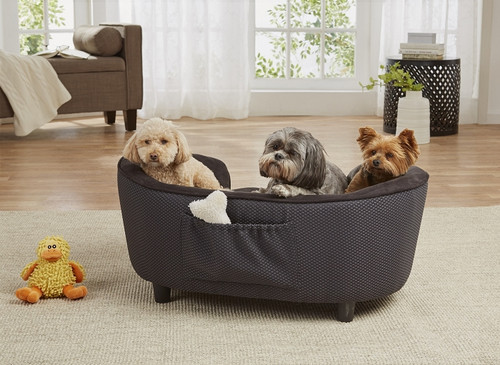 Enchanted Home Pet Hudson Sofa|enchanted home pet beds, pet beds, snuggle beds, pet sofa, ultra plush, hudson sofa