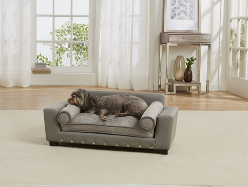 Enchanted Home Pet Scout Lounge Sofa|enchanted home pet beds, pet beds, snuggle beds, pet sofa, ultra plush, Scout Lounge Sofa
