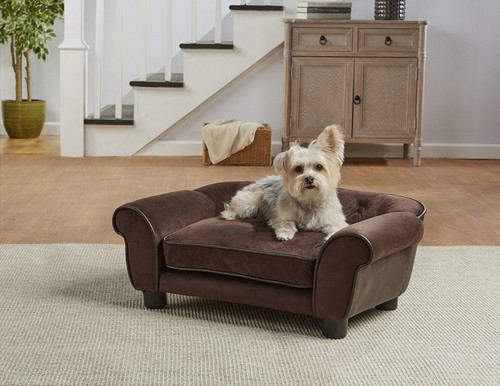 Enchanted Home Pet Cleo Ultra Plush Sofa|enchanted home pet beds, pet beds, snuggle beds, pet sofa, ultra plush, Cleo Ultra Plush Sofa