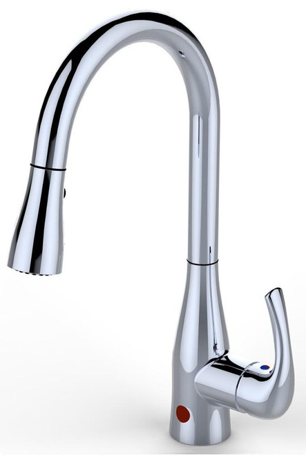 BioBidet FLOW Motion Activated Sensor Kitchen Faucet Chrome Finish