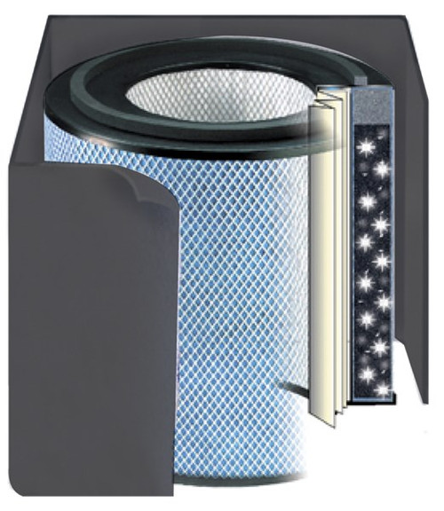 Austin Air Pet Machine Replacement Filter - Black