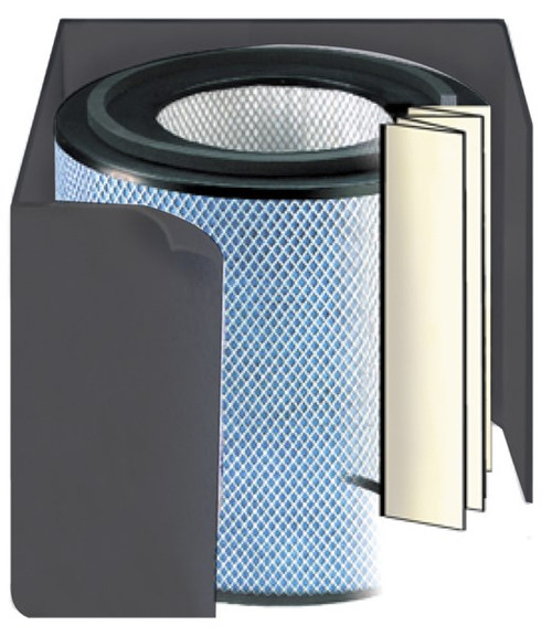 Austin Air Allergy Machine Junior Replacement Filter - Black