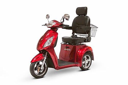 EWheels EW-36 Elite 3 Wheel 350lbs. Wt. Capacity Scooter With Electromagnetic Brakes