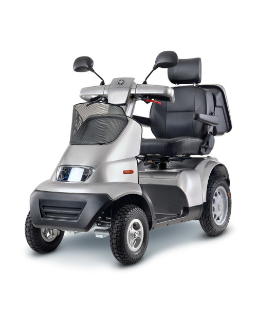 Afiscooter Breeze S4 Four Wheel Scooter - Silver