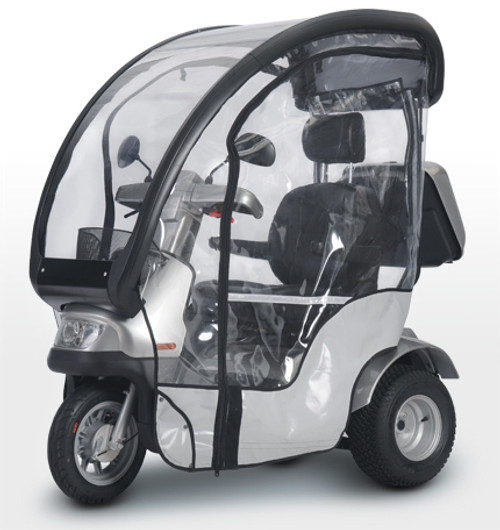 Afiscooter S/M Rain Sides Single Seat