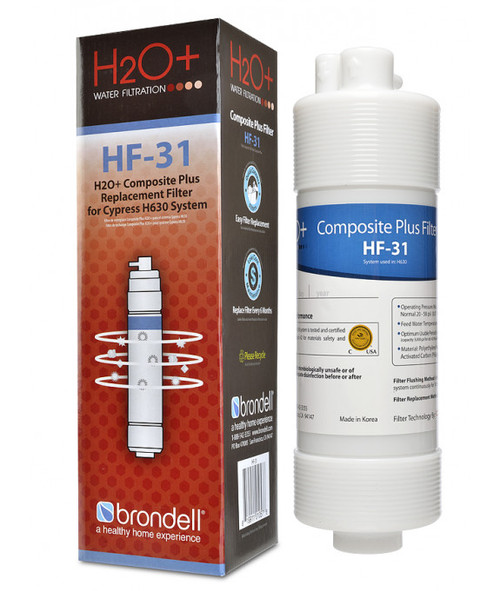 Brondell Cypress HF-31 Composite Plus Water Filtration Replacement Filter