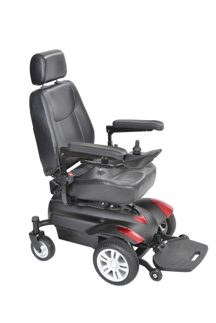 Titan X16 Front Wheel Power Wheelchair 22X20 Inches Captain Seat