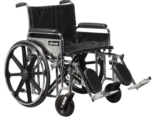 Bariatric Sentra Extra Heavy Duty Wheelchair
