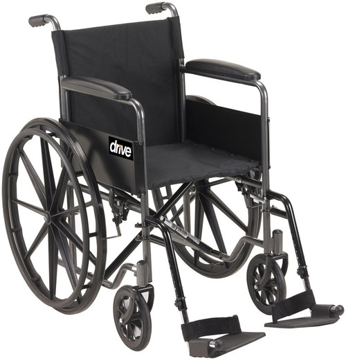 Silver Sport 1 Wheelchair