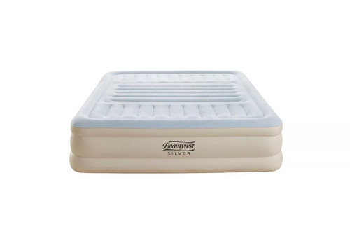 "Simmons Beautyrest Silver 18"" Lumbar Supreme Adjustable Air Bed King"