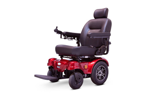 EW-M51 Medical Power Wheelchair Red