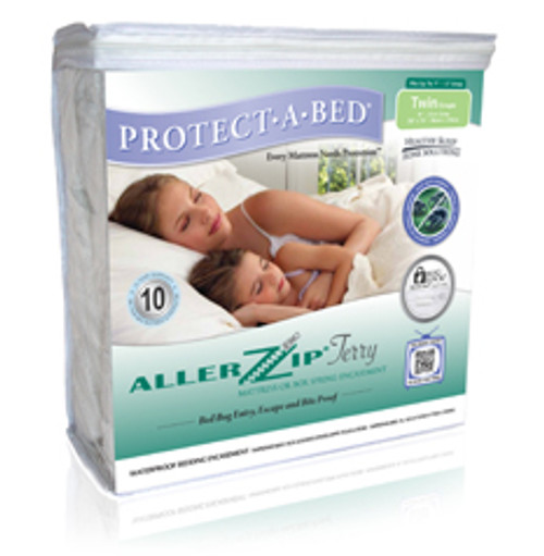 AllerZip Smooth Mattress Protector