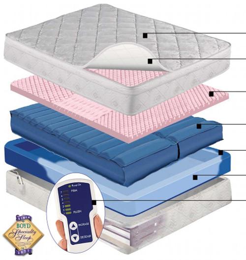 Adjust Air night Air Series 220 Adjustable Airbed | Air Chamber Air Mattress