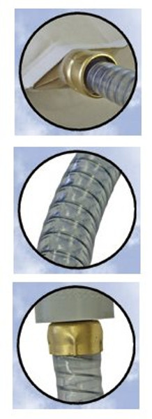 Replacement air bed air hose. Fots all Innomax air beds and fits Select Comfort and Sleep Number Air beds.