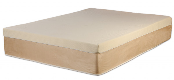 13-inch pillow top memory foam mattress. Natural Soy based memory foam and zippered cover in a cool-sleeping memory foam mattress.