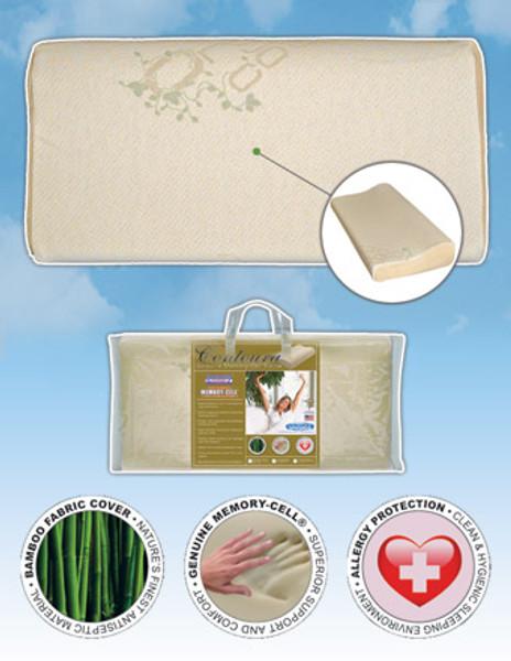 Eco Ultimate Contour Memory Foam Ergonomic Pillow