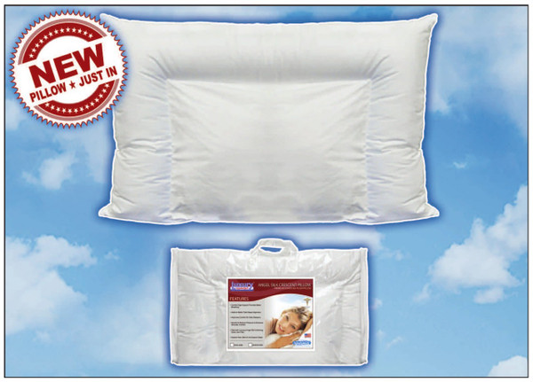 Eco Ultimate Angel Silk Crescent Pillow