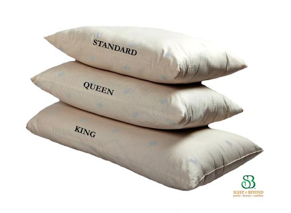 Sleep and Beyond myWool Washable Wool Pillow wool pillows, natural, washable, sleep & beyond