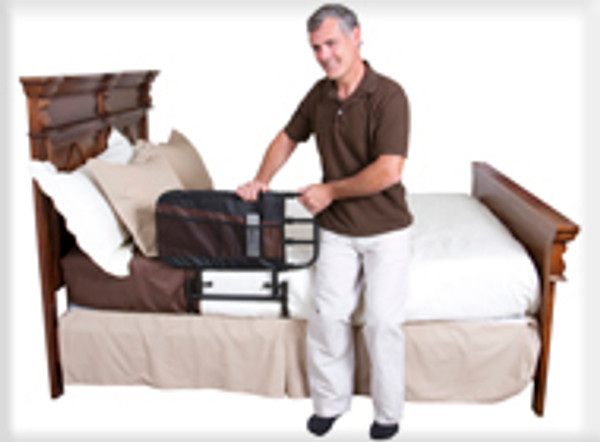 EZ Adjust Bed Safety and Mobilty Rail by Stander | EZ Adjust Bed Safety and Mobilty Rail