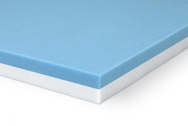 2-inch Gel Infused Memory Foam Mattress Topper   Eco Ultimate Cool Gel Memory Foam Topper