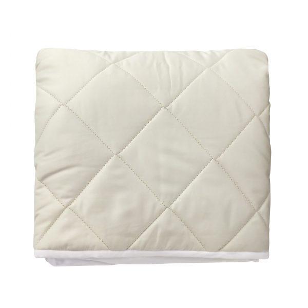 Natura Wash 'n' Snuggle Fitted Mattress Pad