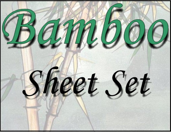London Bridge Linens Bamboo T-300 Conventional Sheet Set|london bridge linens, t300, bamboo, conventional, sheet sets