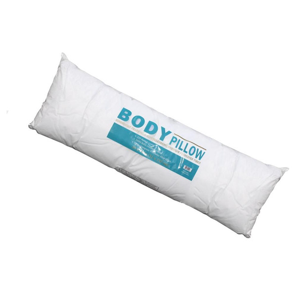Body Pillow. Curl up against this 3/4 length body pillow and snuggle the night away.
