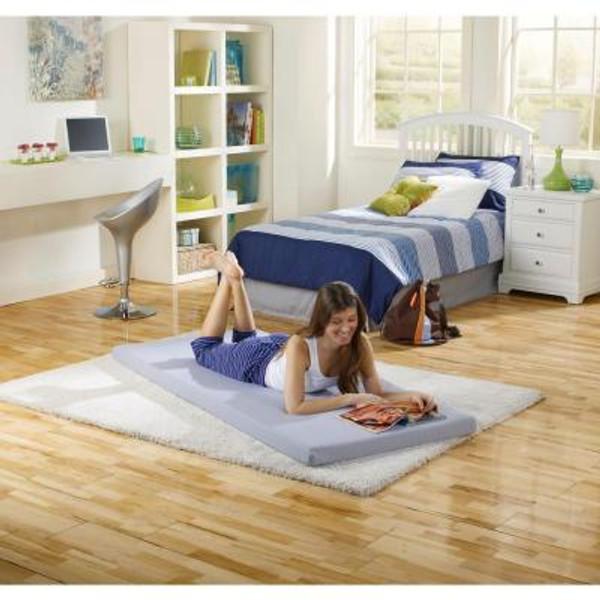 Boyd Beauty Sleep Twin Siesta Roll Up Memory Foam Bed boyd specialty sleep, beautysleep, siesta, roll up, memory foam, twin