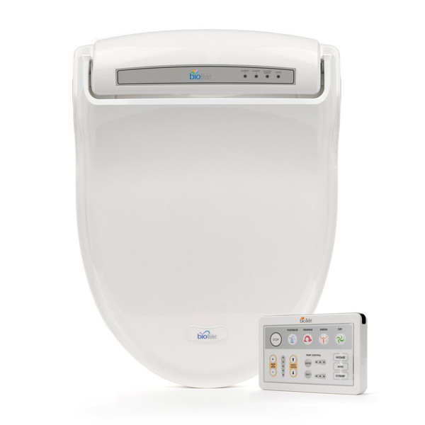 Supreme Luxury Class Bidet Seat Model BB-1000 With Wireless Remote Control By BioBidet