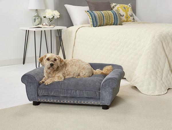 Enchanted Home Pet Dreamcatcher Sofa|enchanted home pet beds, pet beds, snuggle beds, pet sofa, ultra plush, dreamcatcher sofa