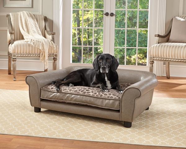 Enchanted Home Pet Rockwell Pet Sofa|enchanted home pet beds, pet beds, snuggle pet sofa, snuggle beds, rockwell