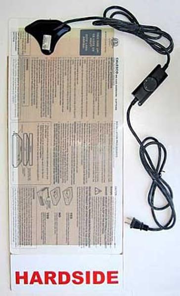 Calesco Full Watt Hard Side Waterbed Heater|calesco, waterbed heater, hard side waterbed heater, 325 watts