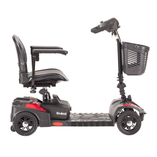 Scout 4 Wheel Compact Travel Power Scooter