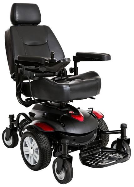 Titan AXS Mid-Wheel Power Wheelchair