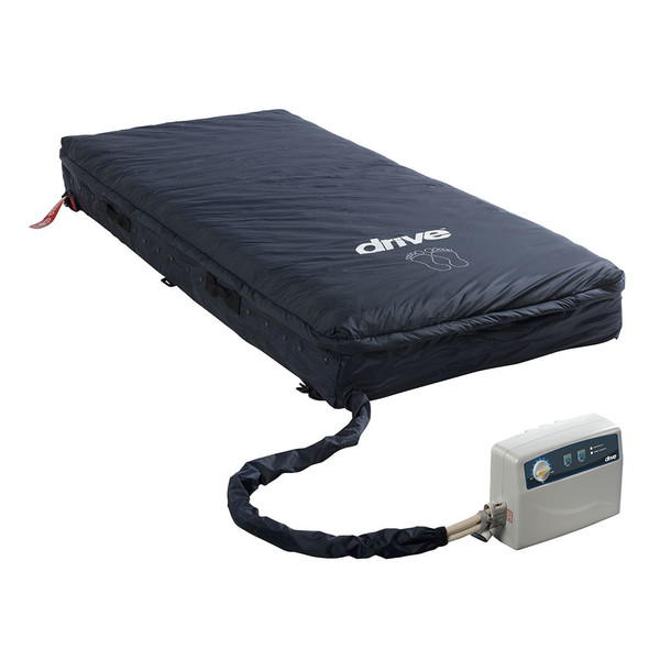 Med-Aire Assure 5 Inch Air + 3 Inch Foam Base Alternating Pressure And Low Air Loss Mattress System