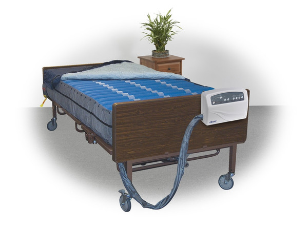 "Med Aire Plus 10"" Bariatric Alternating Pressure and Low Air Loss Mattress Replacement System"