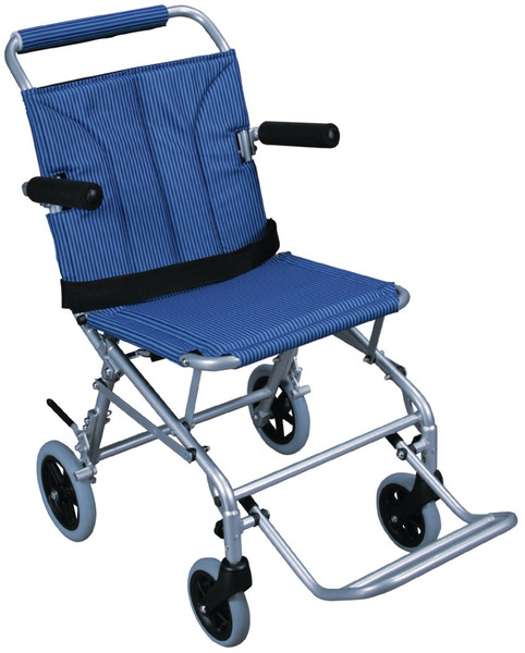 Super Light Folding Transport Chair With Carry Bag And Flip Back Arms