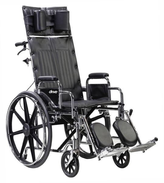 Deluxe Sentra Full Reclining Wheelchair