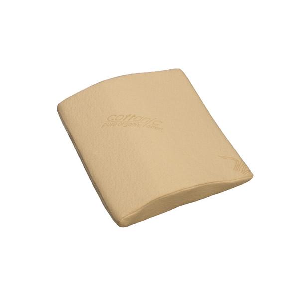 Strobel organic memory foam lumbar pillow