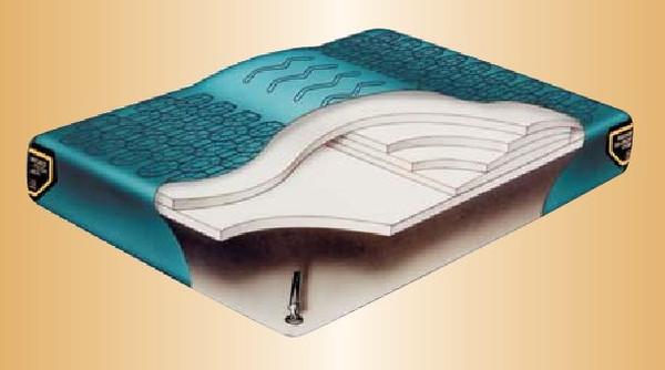 Nordic III with Lumbar Hardside Waterbed