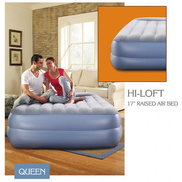 Aerobed style Instabed | Inflatable Strable Guest Bed