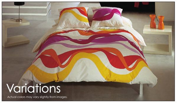 Waterbed and Standard Bed Size Comforter Set