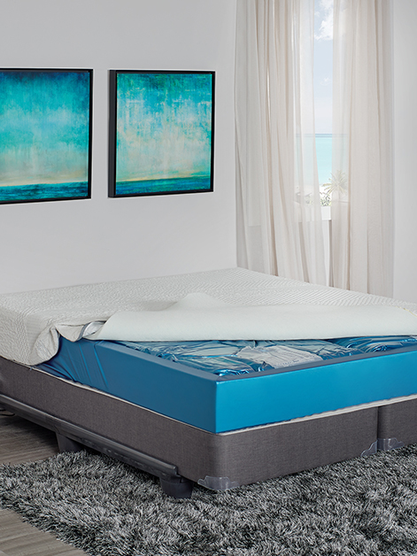 Waterbeds including Hardside and Softside waterbeds