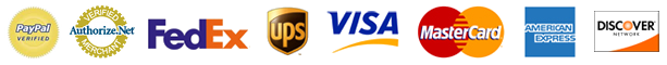 Verified Merchant badges. Accepted forms of payments.