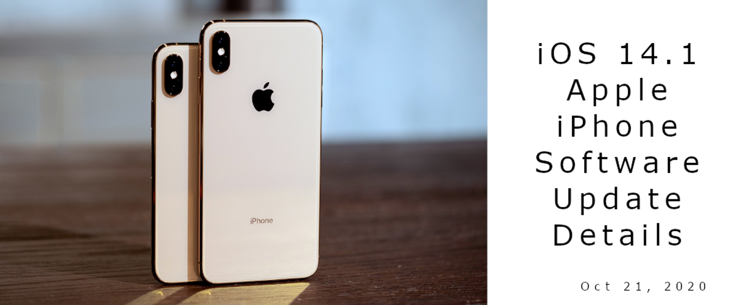 Apple Releases iOS 14.1 for the iPhone
