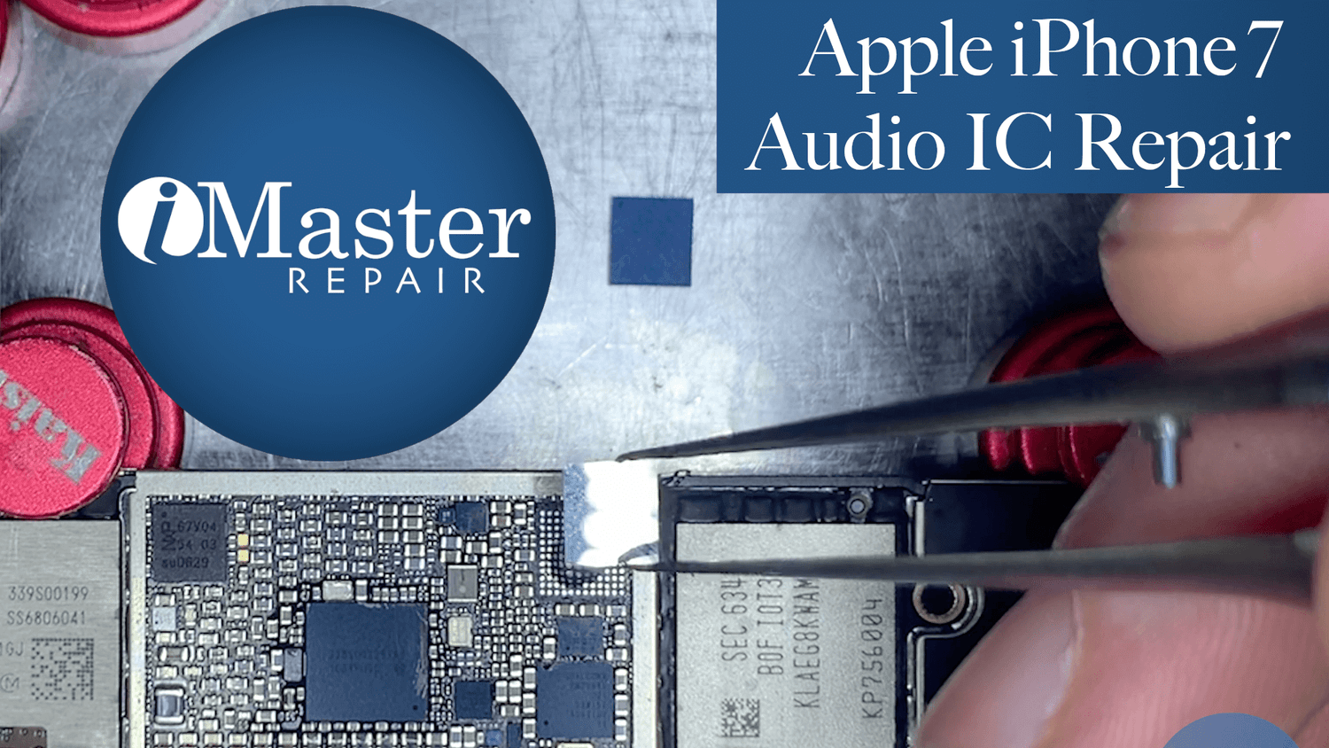 Watch As We Change The Audio IC on an iPhone 7