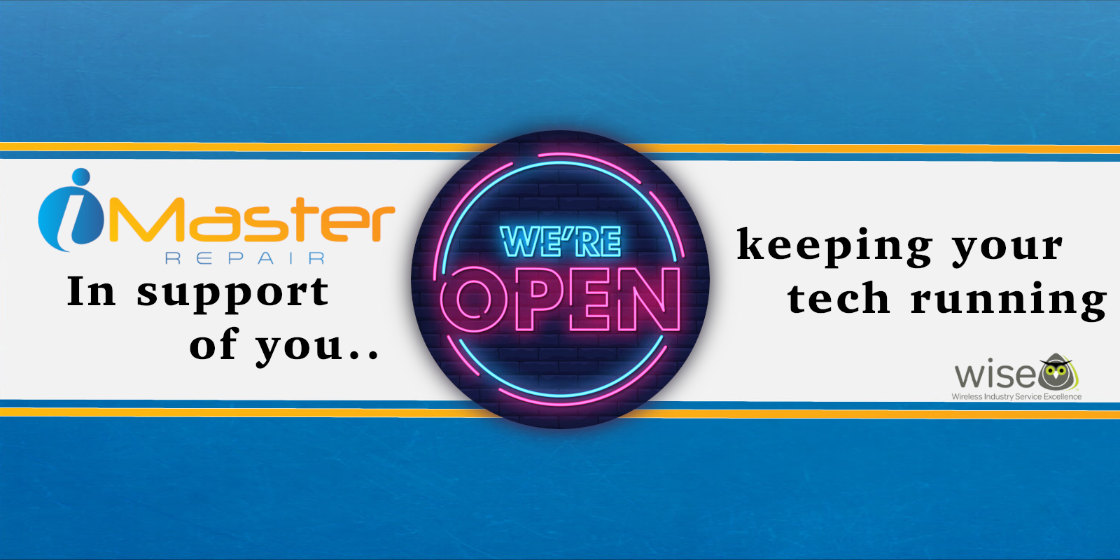iMaster Repair is open during COVID-19 Pandemic to Repair your Essential Technology. iPad Repairs and More