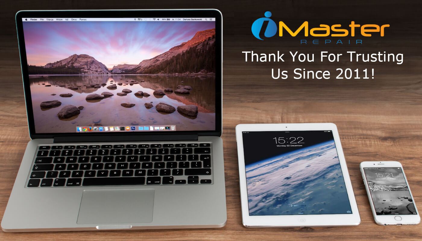 iMaster Repair We Repair MacBooks iPads iPhones Carousel Image